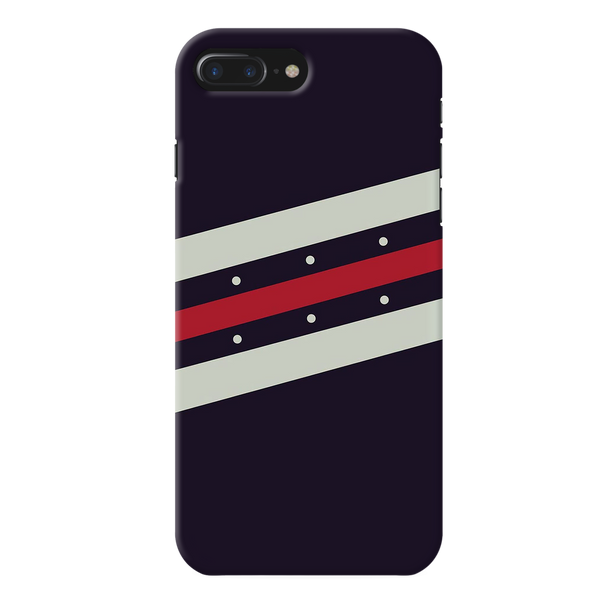 Stripes Red  Case Cover for iPhone 7/8 Plus