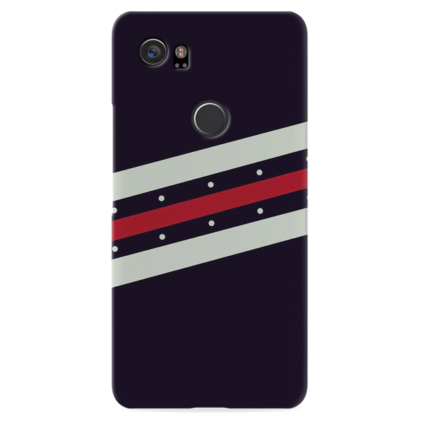 Stripes Red  Case Cover for Google Pixel 2 XL