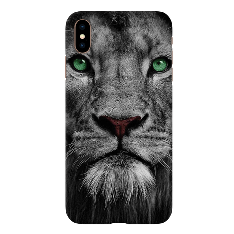 Lion Face Case Cover for iPhone XS Max