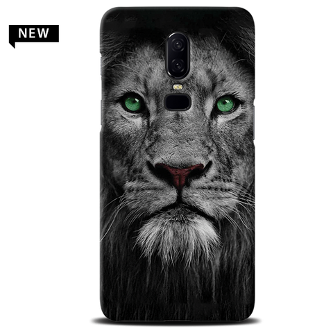 Lion Face Case Cover for OnePlus 6