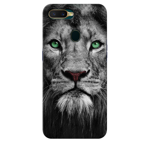 Lion Face Cover Case for Oppo A7