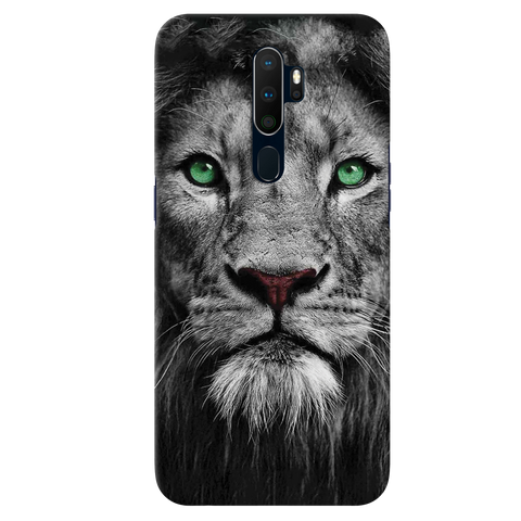 Lion Face Cover Case for Oppo A9 2020
