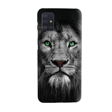 Lion Face Cover Case for Samsung Galaxy A51