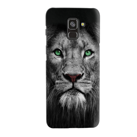 Lion Face Cover Case for Galaxy A8 Plus