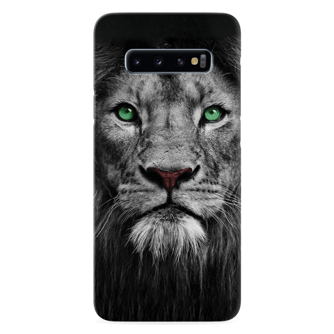 Lion Face Cover Case for Samsung Galaxy S10