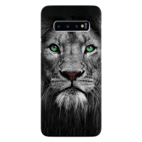 Lion Face Cover Case for Samsung Galaxy S10 Plus