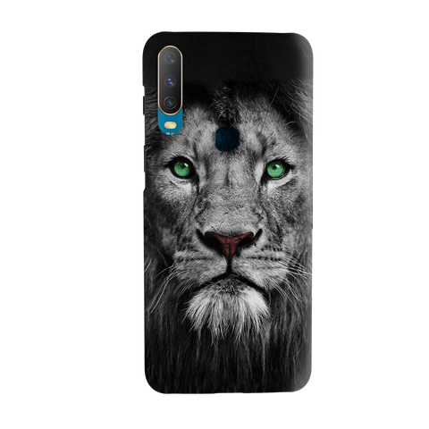 Lion Face Cover Case for Vivo Y17