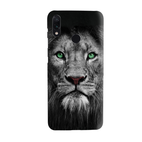Lion Face Cover Case for Redmi Note 7
