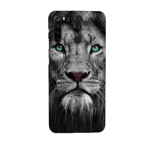 Lion Face Cover Case for Redmi Note 8