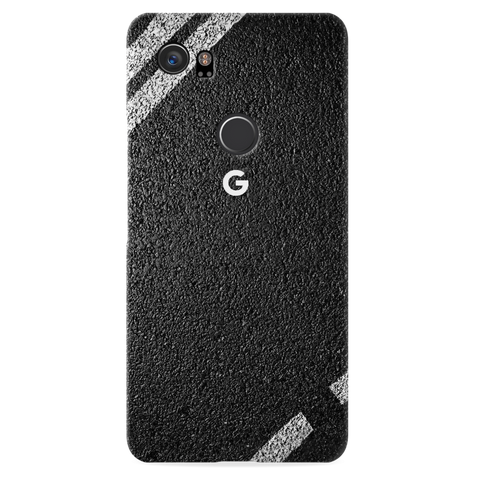 Strips on Road Case Cover for Google Pixel 2 XL