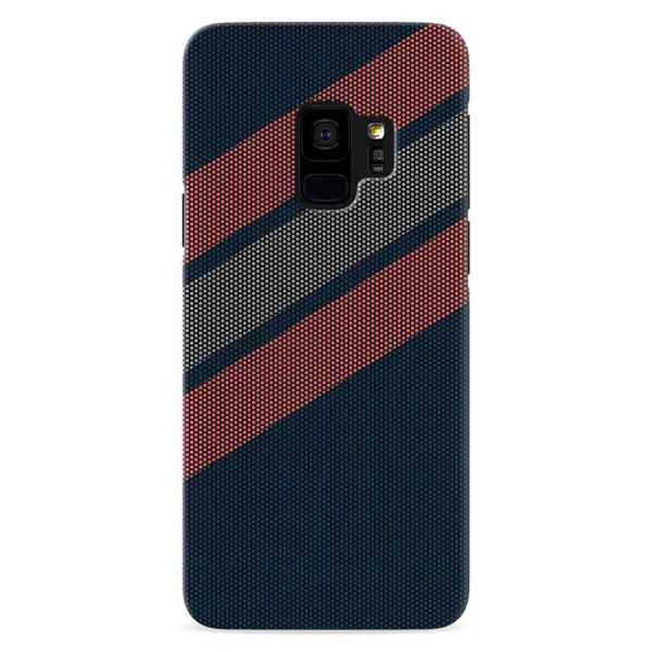 Red Stripes Dots  Cover Case for Samsung Galaxy S9