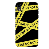 Black Don't Cross Cover Case For iPhone XR