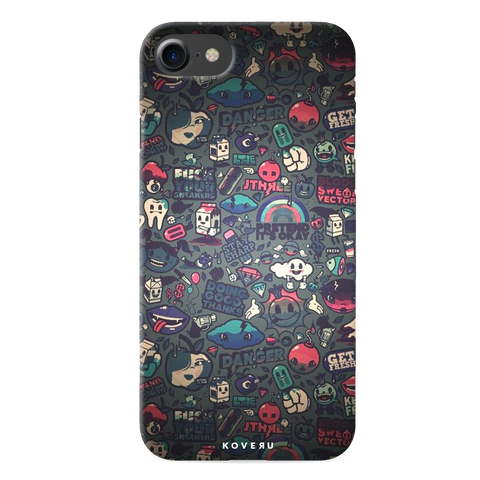 Stay Sharp Cover Case for iPhone 7/8