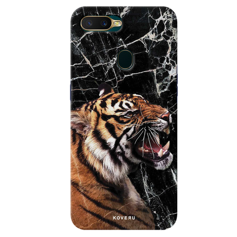 Tiger Marble Cover Case for Oppo A7