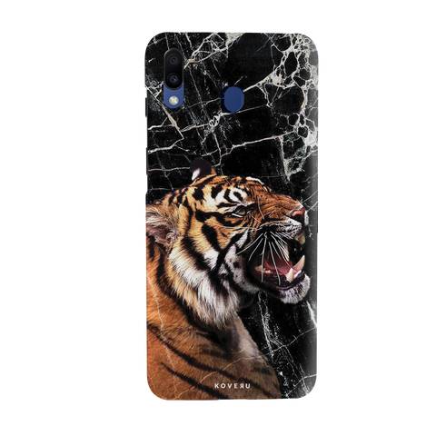 Tiger Marbke Cover Case for Samsung Galaxy M20