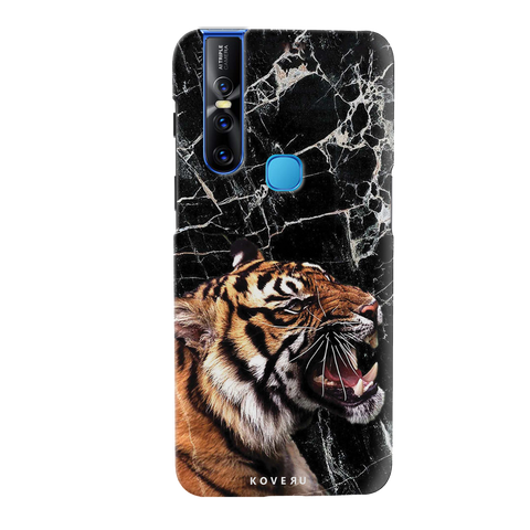 Tiger Marble Cover Case for Vivo V15