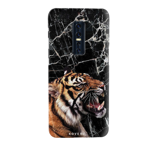 Tiger Marble Cover Case for Vivo V17 Pro