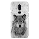 Wolf Marble Cover Case for OnePlus 6