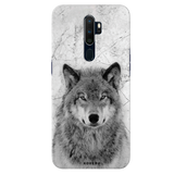 Wolf Marble Cover Case for Oppo A5 2020