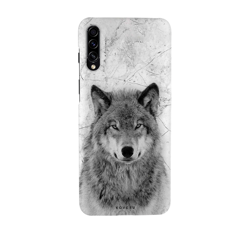 Wolf Marble Cover Case for Samsung Galaxy A70S