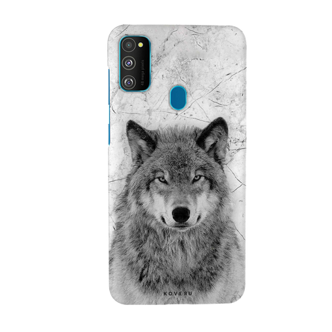 Wolf howling Cover Case for Samsung Galaxy M30S