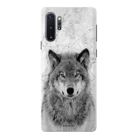 Wolf Marble Cover Case for Samsung Galaxy Note 10 Plus