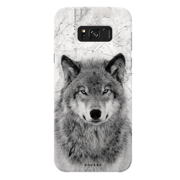 Wolf Marble Cover Case for Samsung Galaxy S8 Plus