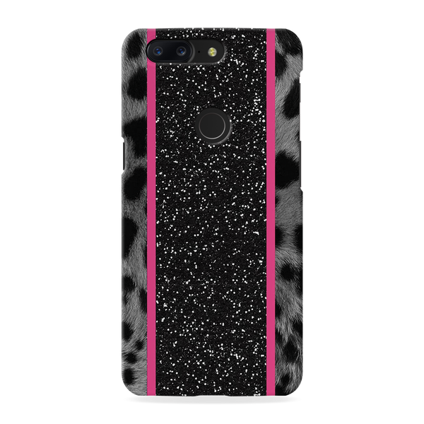 Leapard Fur Cover Case for OnePlus 5T