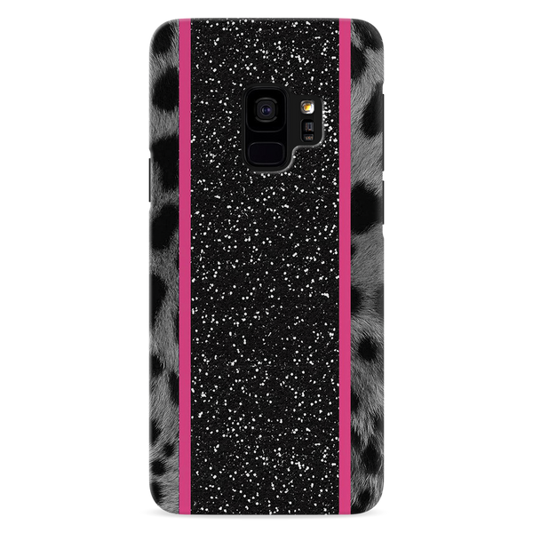 Leapard Fur Cover Case for Samsung Galaxy S9