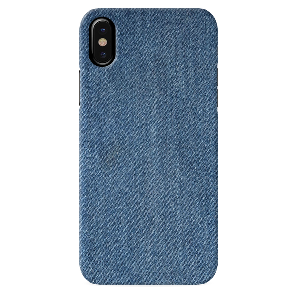 Denim Jeans Texture Cover Case for iPhone X