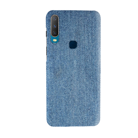 Denim Jeans Texture Cover Case for Vivo Y17