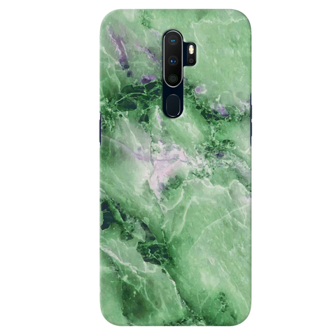 Green Marble Cover Case for Oppo A9 2020