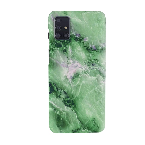 Green Marble Cover Case for Samsung Galaxy A51