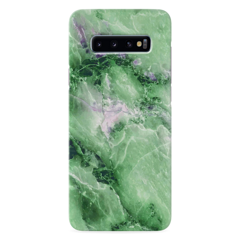 Green Marble Cover Case for Samsung Galaxy S10 Plus