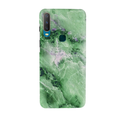 Green Marble Cover Case for Vivo Y17
