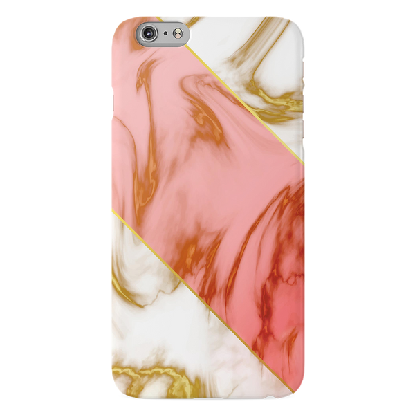 Close Up Marble Cover Case for iPhone 6/6S Plus