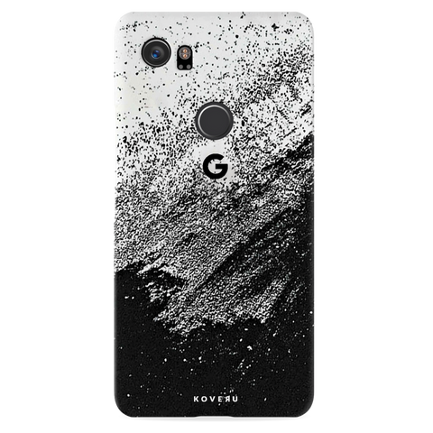 Distressed Overlay Texture Cover Case for Google Pixel 2 XL
