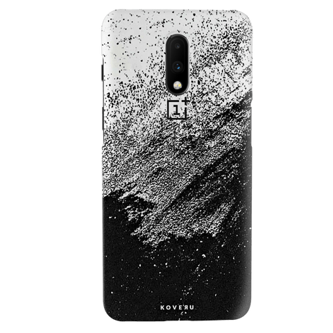 Distressed Overlay Texture Cover Case for OnePlus 7