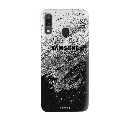 Distressed Overlay Texture Cover Case for Samsung Galaxy A20