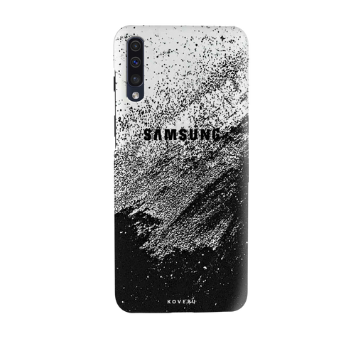 Distressed Overlay Texture Cover Case for Samsung Galaxy A50