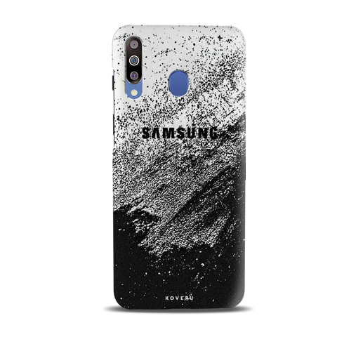 Distressed Overlay Texture Cover Case for Samsung Galaxy M30