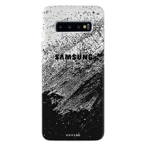Distressed Overlay Texture Cover Case for Samsung Galaxy S10 Plus