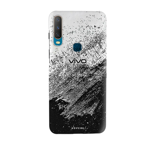 Distressed Overlay Texture Cover Case for Vivo Y17