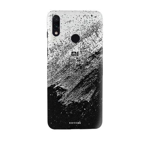 Distressed Overlay Texture Cover Case for Redmi Note 7 Pro