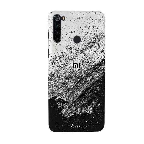 Distressed Overlay Texture Cover Case for Redmi Note 8
