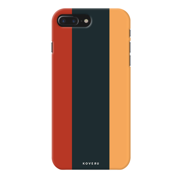 Orange and Yellow Stripes Cover Case for iPhone 7/8 Plus