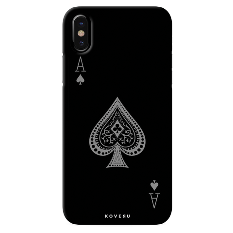 Ace cards Cover Case for iPhone X