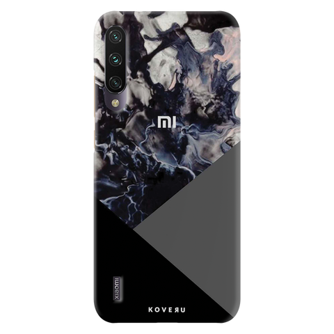 Black and Grey Splash Cover Case for Redmi A3