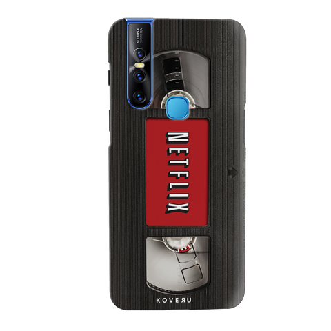 Netflix Cassette Cover Case for Vivo V15