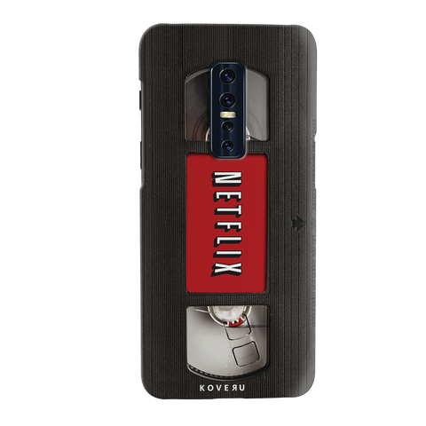 Netflix Cassette Cover Case for Vivo V17 Pro